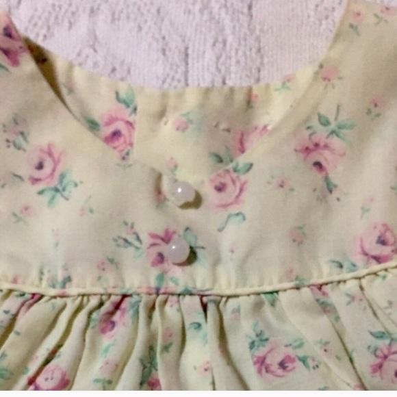 Vintage Dresses - 1970s Vintage Newborn Baby Dress