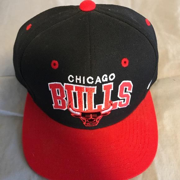 307db217 Mitchell & Ness Accessories | Mitchell Ness Chicago Bulls Snapback ...