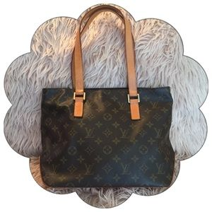 Authentic Louis Vuitton Cabas Piano Monogram