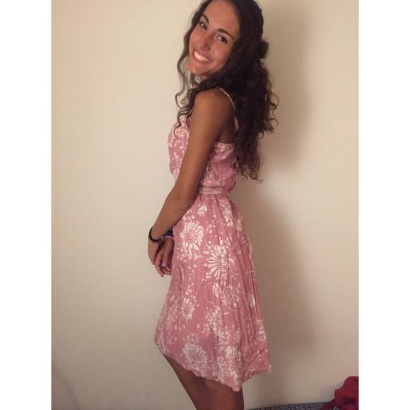 Point Zero Dresses - Pointzero pink flower patterned dress
