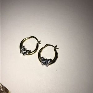 Jewelry - Gold and silver earrings
