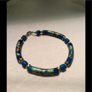 Oriental patterned Bracelet with clasp