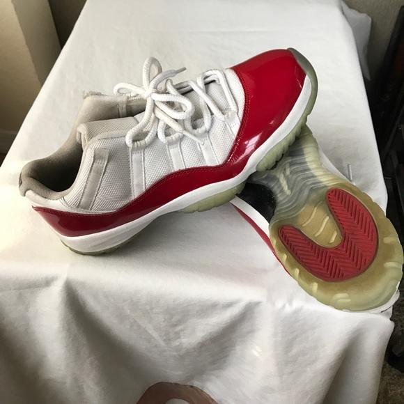 Air Jordan Other - Nike Mens Air Jordan 11 - Retro Low Cherry 36ee6a397