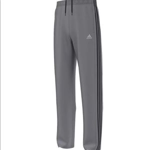 Adidas Men's Essential Track Pant Grey/Black XL