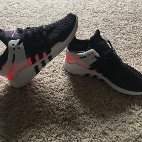 c1e5a9b06aca4 adidas Shoes - Adidas EQT black white and pink - kids size 5