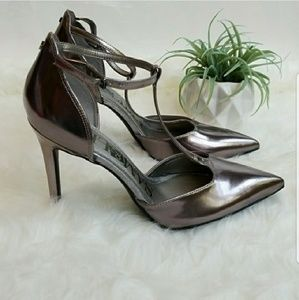 HP🎉 Sexy Ankle Strap Stilleto Heels, Pumps Sz  10