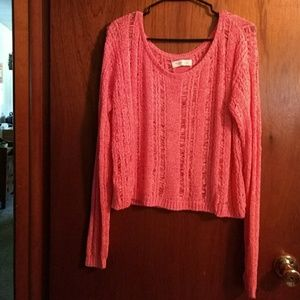 GILLY HICKS Coral Sweater