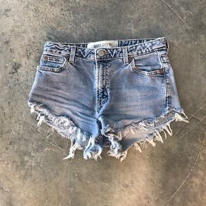 Vintage denim GAP distressed shorts
