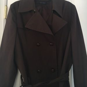 Context Dark Brown Rain Coat