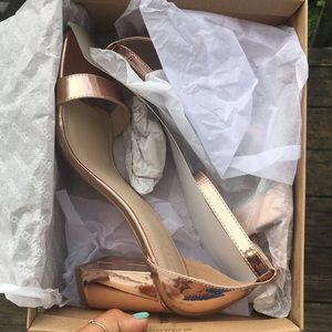 Asos Rose gold shoes size 9