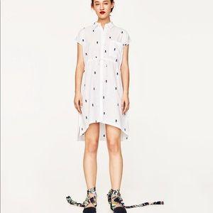 LAST DAYS! Zara pineapple short dress