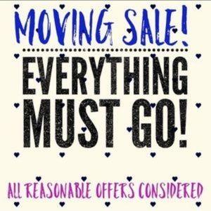 Big Moving Sale!