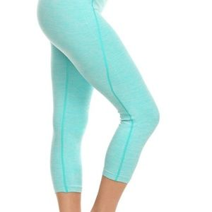 Pants - New Mint Capri yoga workout leggings