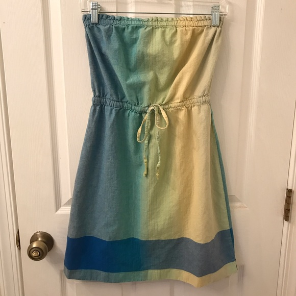 LOFT Dresses & Skirts - Ombré Strapless LOFT Dress