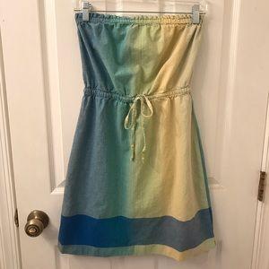 LOFT Dresses - Ombré Strapless LOFT Dress