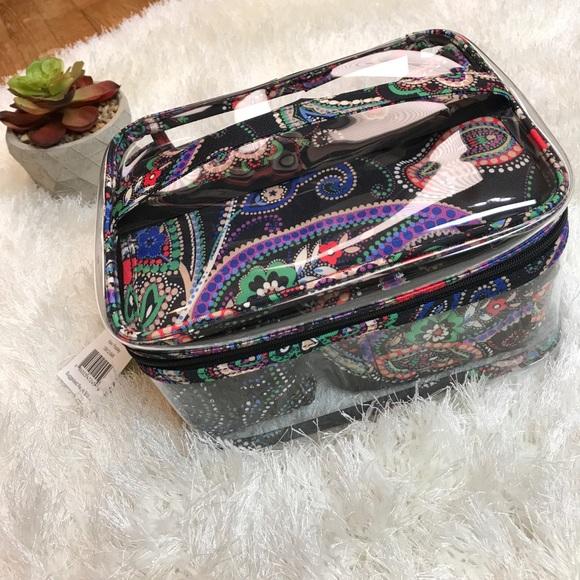 Vera Bradley travel cosmetic set kiev paisley f5d4f7fe768ac
