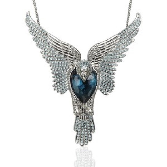 48 off swarovski jewelry swarovski phoenix necklace from shellis swarovski phoenix necklace mozeypictures Image collections