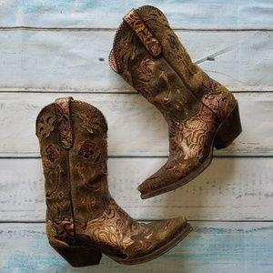Dan Post Rose Cowboy Boots