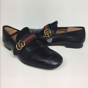 c2f178aa939 Gucci Shoes - Gucci men s black Donnie Webb GG Logo Shoes
