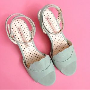 B.A.I.T. Mint Shell Toe Sandal