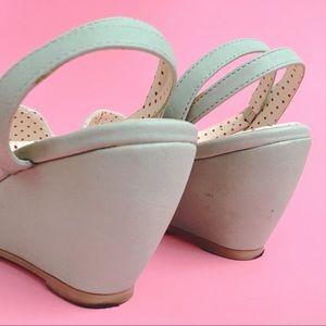 Modcloth Shoes - B.A.I.T. Mint Shell Toe Sandal