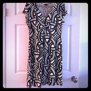 Ann Taylor Patterned Dress