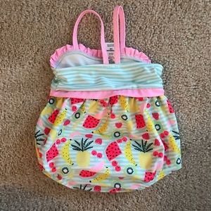 39f97e6bd cat and jack Swim | Baby Girl Fruit Stripes Suit | Poshmark