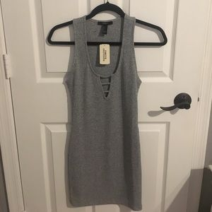 Grey Forever 21 Bodycon Dress Size S