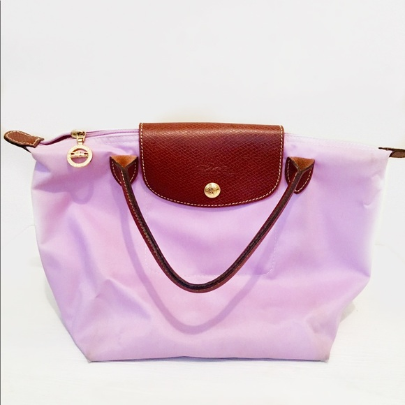 Longchamp Bags   Mini Le Pliage In Lavender   Poshmark c21a02188e