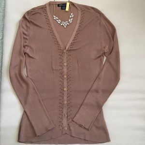 GUESS Collection Cardigan with Tank Top