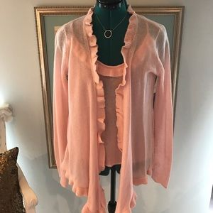 Neiman Marcus Cashmere set💞new with tags!💞pink:)