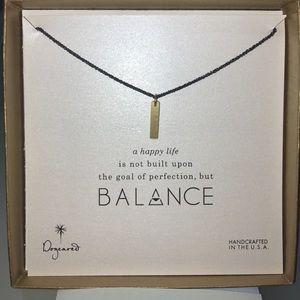 Dogeared Balance Necklace