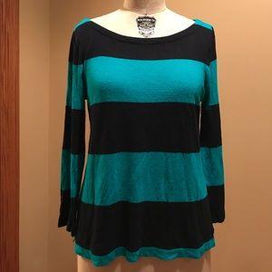 J.Crew Striped Lightweight Sweater
