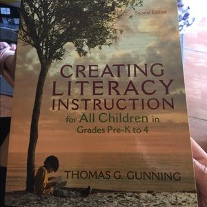 Other - Creating Literacy instruction for all children