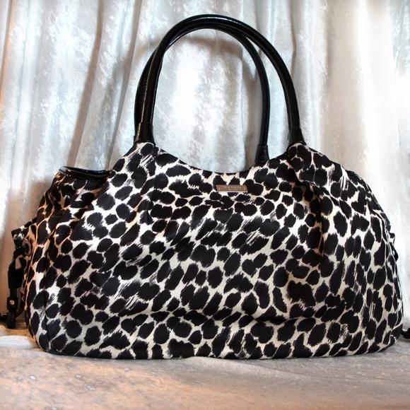 kate spade Bags   Huge Animal Print Stevie Diaper Bag   Poshmark d06a20738f