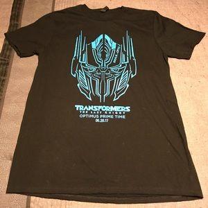 """NEW!! """"Transformers"""" Optimus PrimeTime Event Shirt"""