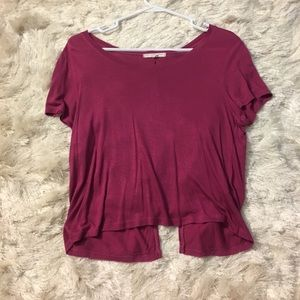 Urban Outfitters scoop neck open back top