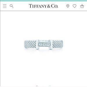 🔴Authentic Diamond Somerset Tiffany & Co Ring 💋