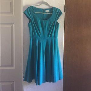 Gorgeous teal CK dress