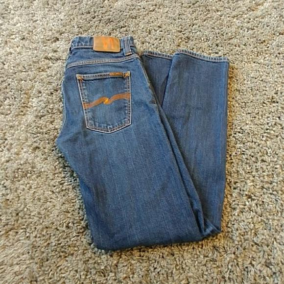 0d4be74fec Men s Nudie Jeans Grim Tim Dry Stretch (used). M 5978f2db7f0a0539570329e0