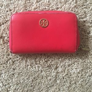 "Tory Burch ""Robinson"" Zip Wallet"