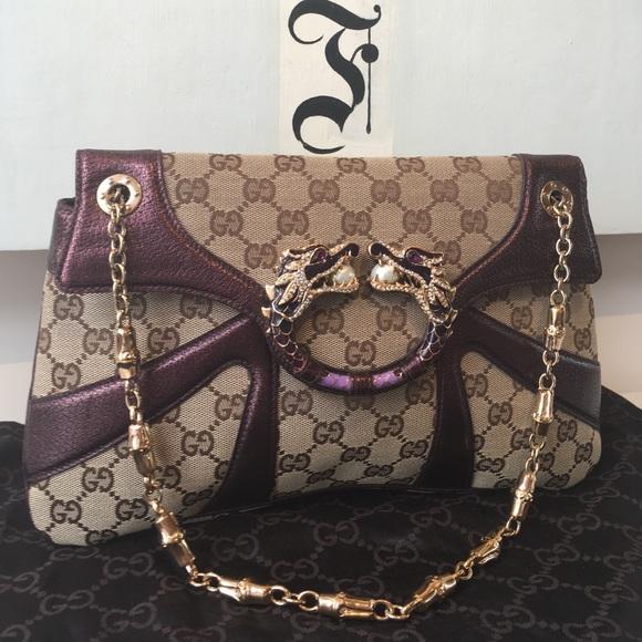 ac5fc3f97b9420 Gucci Handbags - Vintage Gucci Dragon Bag🌟Perfect!🌟