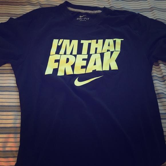 nike shirt freak