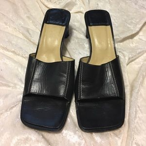 Banana Republic 7 sandals made in Spain leather