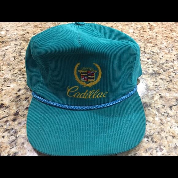 Vintage corduroy Cadillac hat. M 5978fdeea88e7d99bc036d82 5ce7ea80af78