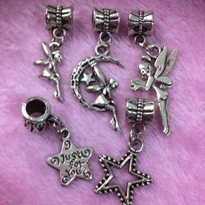 Accessories - Handmade silver Fairy tale dangle charm sets