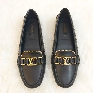 Louis Vuitton Oxford Flat Loafers
