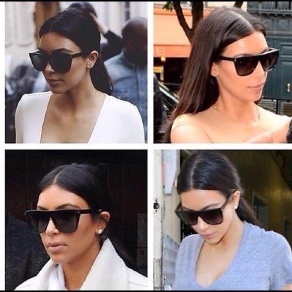 As Kardashian Seen Laurent Kim Sunglasses On Saint rCeBEQoWdx