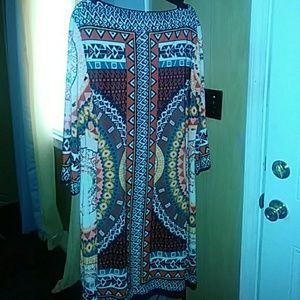 Dresses & Skirts - Cute printed dress/ nice material