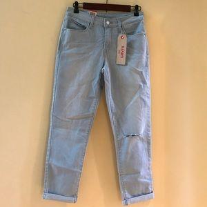 Levi's mid rise skinny Crop Light-wash Jean